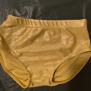 Other - Gold sparkly tennis/ dance bloomers size medium